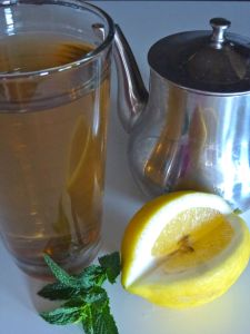 HOMEMADE CHILLED GREEN TEA 19-1-15