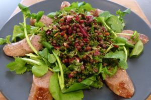 Lentil Beet Salad with Orange dressing 11-5-15