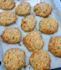 Protein Oat n Peanut Butter Cookies