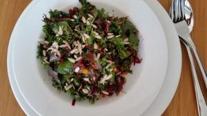 Superfood salad plate