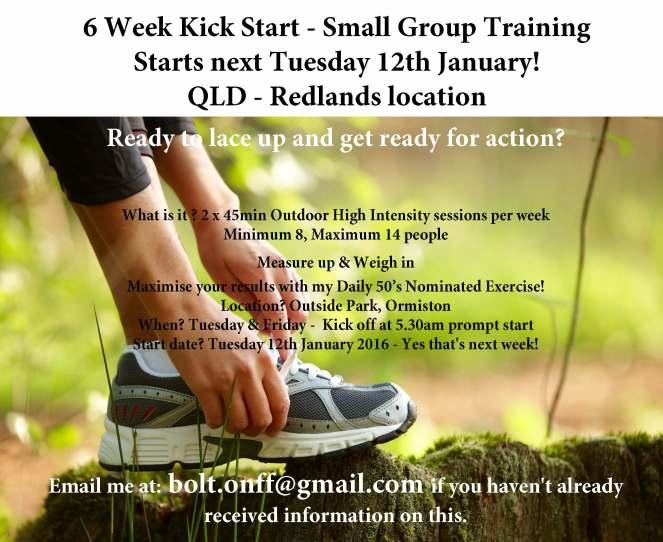 6 week kick start