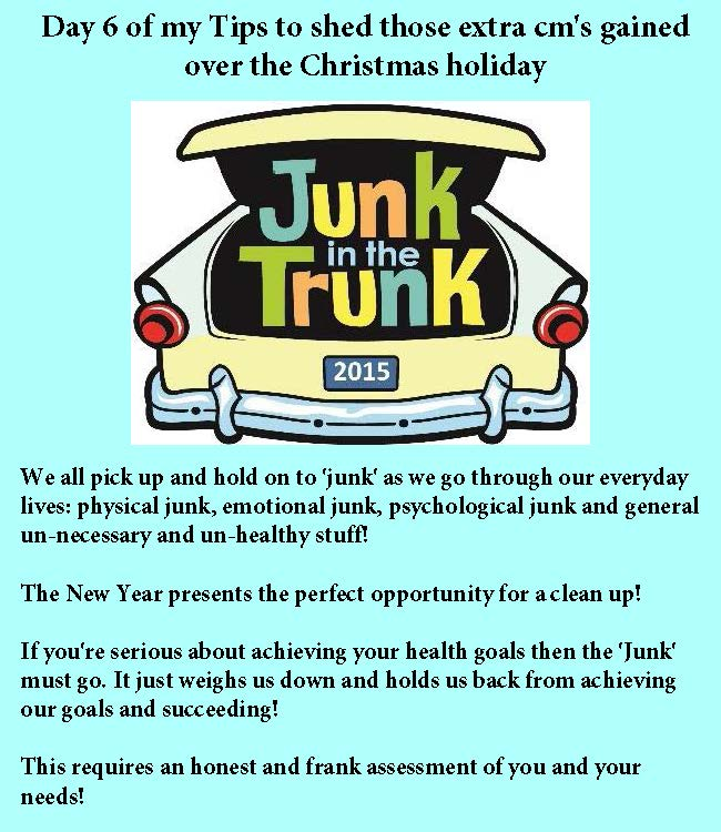 Day 6 Junk in the Trunk