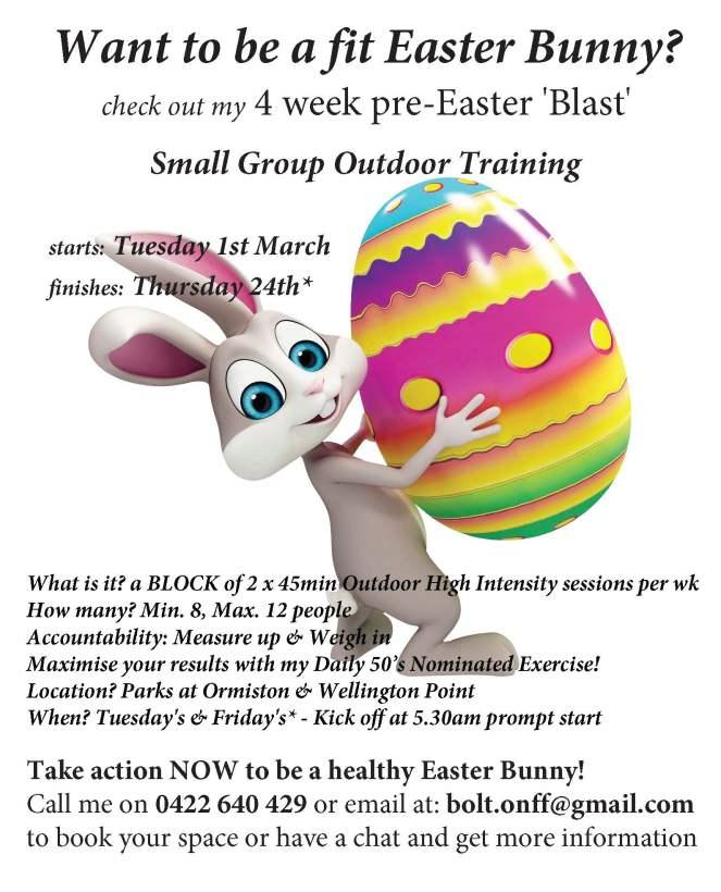Pre Easter Blast