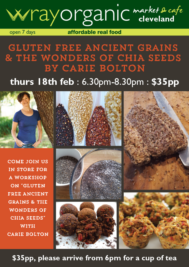 """EM1780_""""Gluten Free Ancient Grains & the Wonders of Seeds"""" by Ca"""