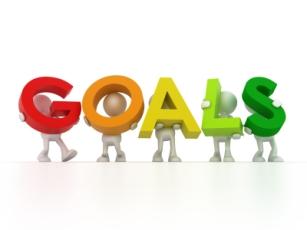 Goals - colourful
